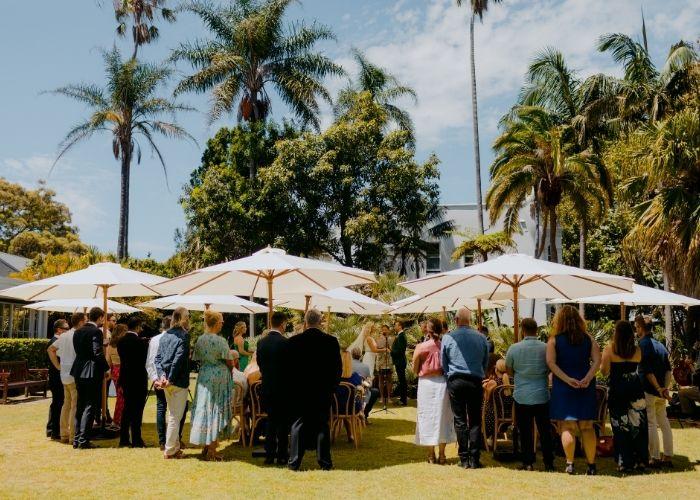 Shade Umbrellas For Wedding